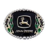 JOHN DEERE ATTITUDE ON FIRE BELT BUCKLE