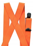 ORANGE HUNTING SUSPENDERS