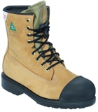 "MEN'S 8"" HARDCORE SAFETY WORK BOOTS"