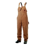 UNLINED DUCK CANVAS OVERALLS