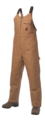 OVERALL BIB SZ 2XL   BROWN UNL