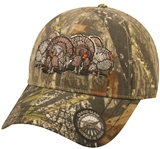 CAP 4 TURKEYS MOSSY OAK OBSESS