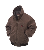 TOUGH DUCK  WASHED HOODED JACKET