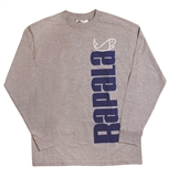 RAPALA LONG SLEEVE GREY T-SHIRT