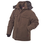 MENS WASHED MOSS PARKAS