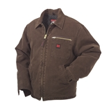 TOUGH DUCK MEN'S WASHED WORK JACKET SIZE LARGE