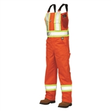 MEN'S UNLINED SAFETY BIB OVERALLS