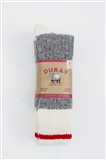 3 pack Light WORK Socks Natural Grey size 10-13