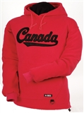 FLEECE CANADA HOODIE XL RED