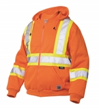 WORK KING SAFETY HOODIE SIZE LARGE