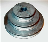 "3 - 1/2"" X 1/2"" CONE ""V"" GROOVED PULLEY"