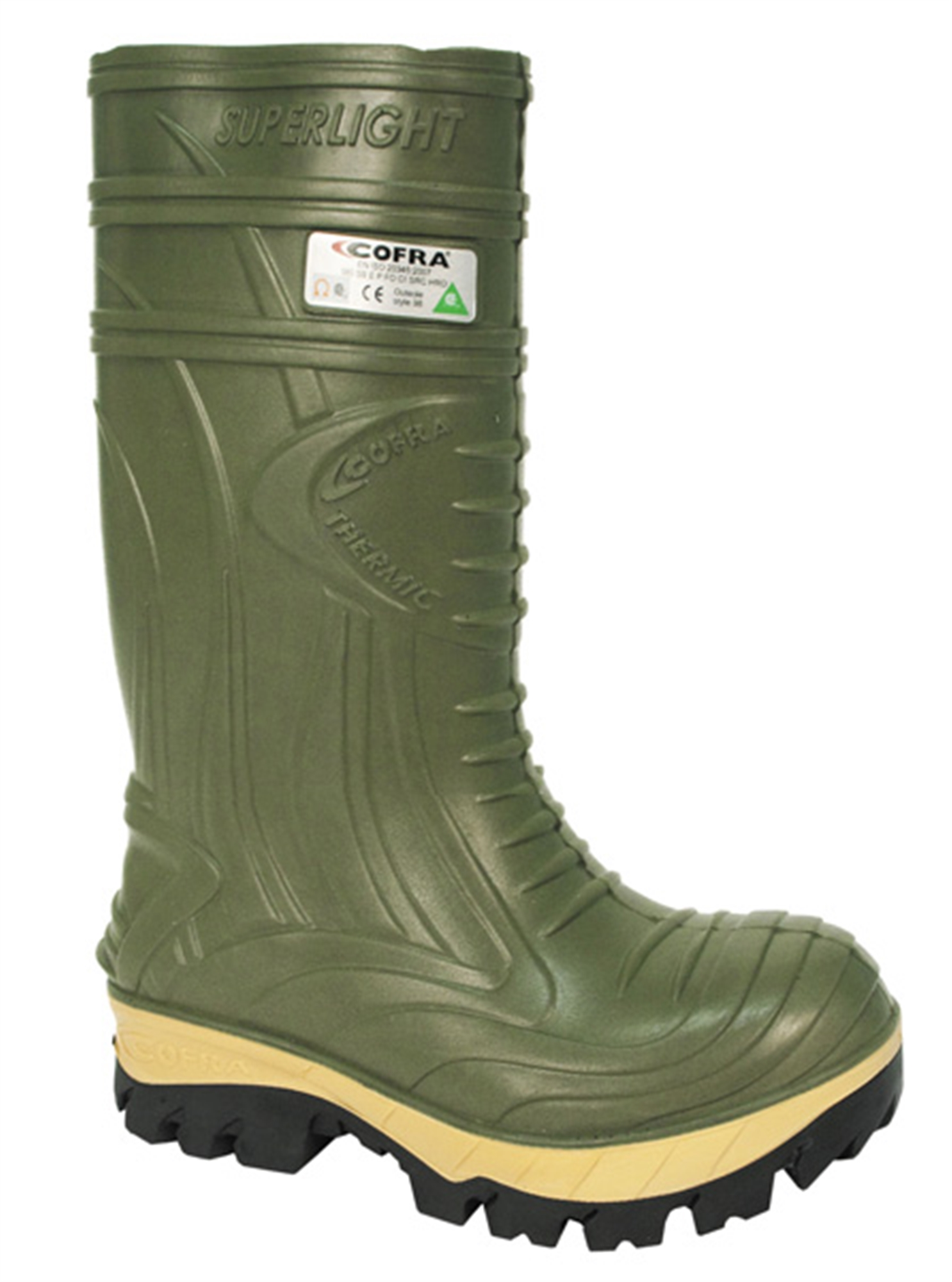Cofra C00040-15 Thermic PU Boots, Green
