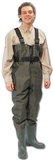 WADERS 13 NYLON/PVC CHEST