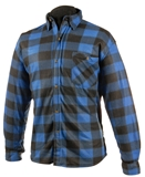 SHIRT L FLEECE BLU