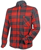 SHIRT L FLEECE SHIRT RED