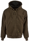 MEN'S INSULATED WASHED CANVAS JACKETS