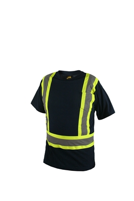 MEN'S SHORT SLEEVE SAFETY T-SHIRTS