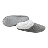 SLIPPER WM SLIP ON CABLE GRY