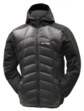 MEN'S SOFTSHELL DOWN FILLED WINTER JACKETS