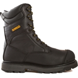 Impact Men 8 in. Size 12(M) Black Leather Aluminum Toe/ Composite Plate Work Boot