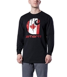 CARHARTT LONG SLEEVE LOGO T-SHIRTS L