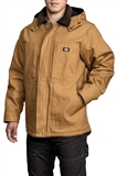 MEN'S QUILTED DUCK HOODED PARKAS