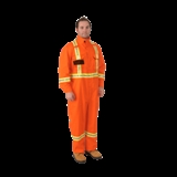 MEN'S HIVIS 9OZ COVERALLS