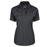 WOMEN'S SHORT SLEEVE WORK SHIRTS
