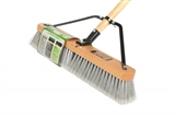 "18"" Poly Stable Broom - Assembled"