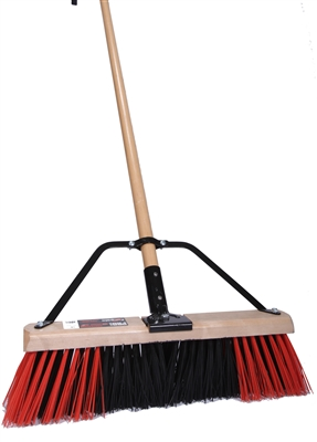 "18"" STIFF PUSH BROOM"