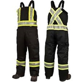 Overall WK Safety Lined Black L