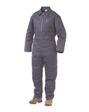 WORK KING LINED TWILL COVERALLS SIZE MEDIUM