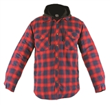 MENS FLANNEL QUILTED JACKET
