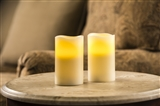 CANDLE 2PC FLAMELESS VANILLA
