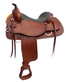 "16"" COOPER TRAIL SADDLE TOBACCO"
