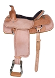 "16"" ROPER SADDLE GOLDEN ROSE"