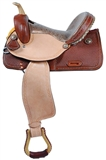 "15"" COLOMBA BARREL RACER SADDLE"