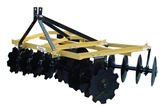 "KING KUTTER 78"" ANGLE FRAME 16""SB NOTCHED DISC HARROW"
