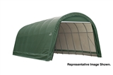 14' X 28' X 12'  ROUND STYLE SHELTER
