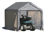 6' x 6' x 6' GRAY PEAK STYLE SHED-IN-A-BOX