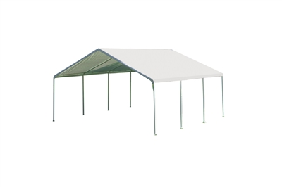 Super Max 18 ft. x 20 ft. White Premium Canopy
