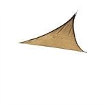 16 FT. SAND TRIANGLE HEAVY WEIGHT SUN SHADE