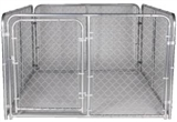 6X8X4FT DOG KENNEL
