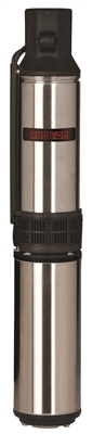"12 GPM,1HP, 2 WIRE, 230V 4"" SUBMERSIBLE WELL PUMP"