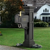MAYNE LIBERTY MAIL POST - BLACK