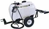 DELUXE 60 GALLON 5-NOZZLE TRAILER SPRAYER