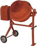 3.5 CU. FT. 1/3HP OR 120V CEMENT MIXER