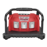 MILWAUKEE 3 BAY LI-ION/NiCD BATTERY CHARGER
