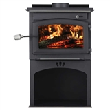 DEFENDER WOOD STOVE WITH STORAGE