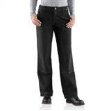 WOMENS RELAXED FIT DUNGAREE WORK PANTS